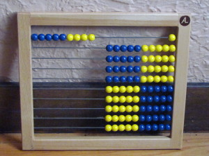Al Abacus numbers, favorite math manipulative