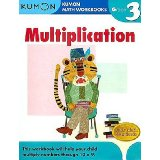 Favorite math drill books from Kumon