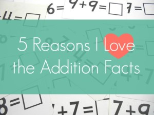Teaching Your Child the Addition Facts to 20