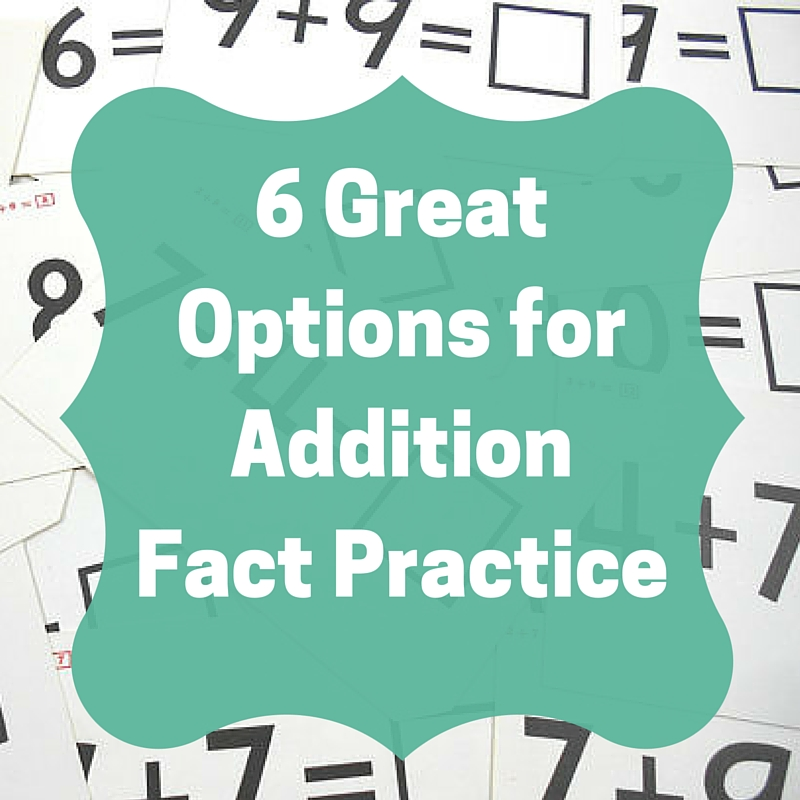 The Best Addition Facts Practice for Every Learning Style
