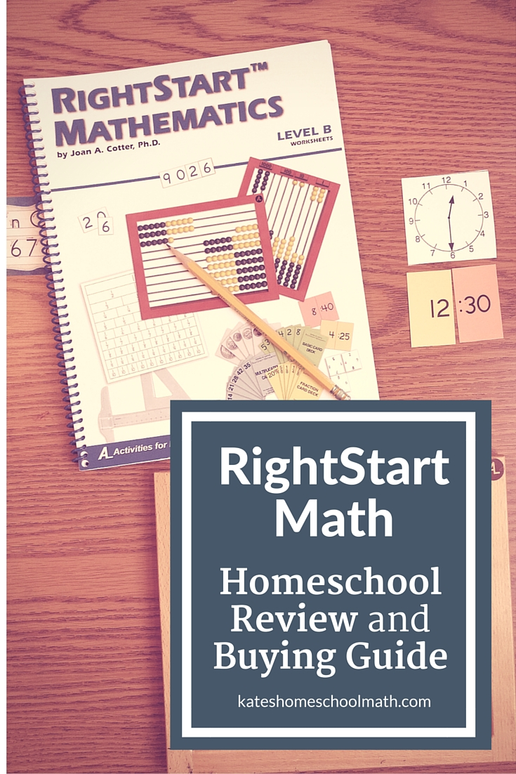 RightStart Math Review and Buying Guide