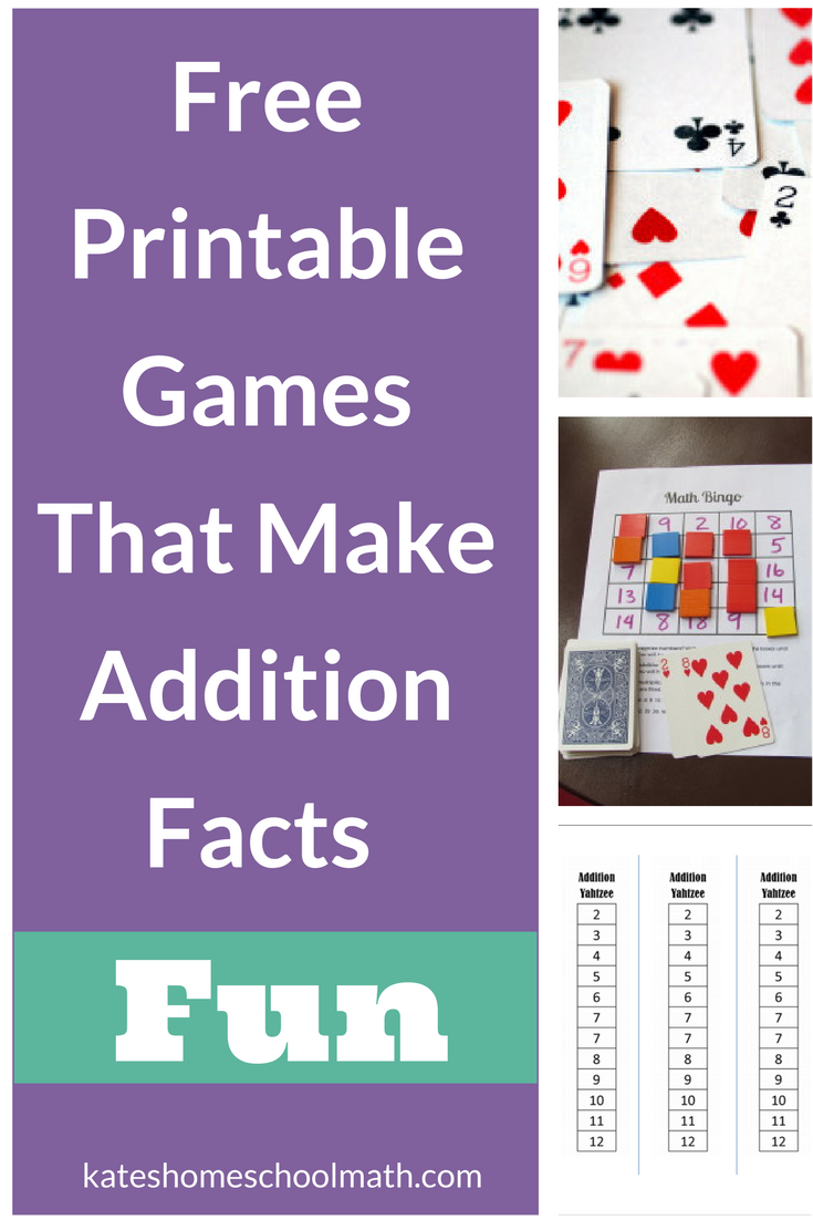 Uncategorized Fun Printable Games free printable addition games that will make learning the facts fun games