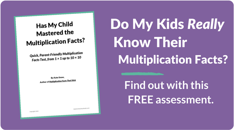 Multiplication Facts That Stick How To Teach The Times Tables