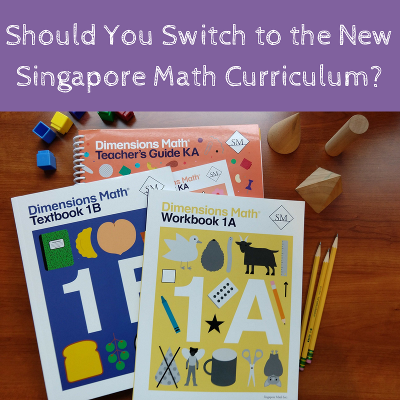 Dimensions Math Review: Should You Switch to Singapore