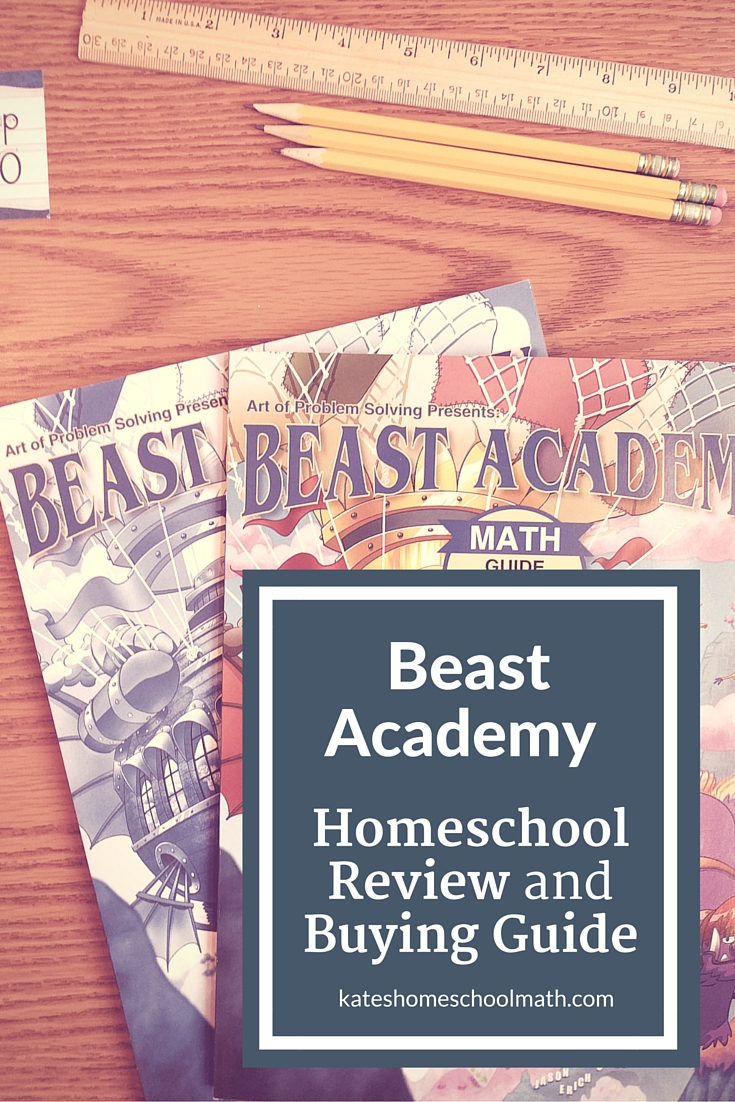 Beast Academy Review Unconventional Math For Curious Kids