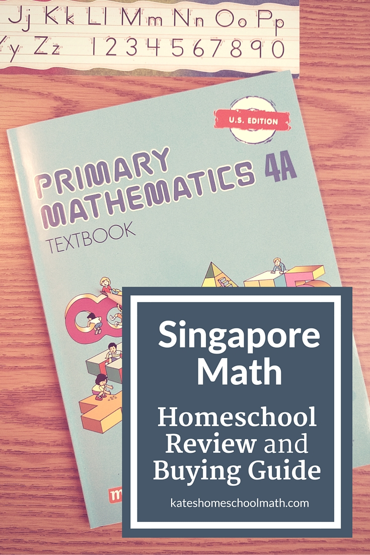 Workbooks kindergarten common core workbook : Singapore Math Review and Buying Guide for Homeschoolers